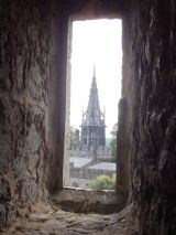 View of the House of the Cardiff Castle from the Norman Keep