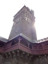 The Clock Tower of the Cardiff Castle