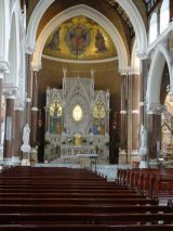 Northern Irish church interior