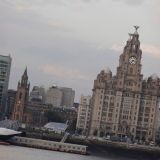 Liverpool on the River Mersey