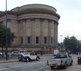 Panoramic of Liverpool. St George's Hall, Liverpool Library and the Walker Art Gallery