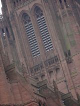 Detail of the Liverpool Cathedral exterior