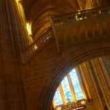 Detail of the Liverpool Cathedral interior
