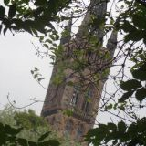 A view of the Glasgow University