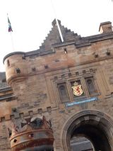 The Entrance to Edinburgh Castle
