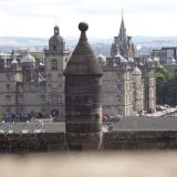 A view of George Heriot's School from the Edinburgh Castle