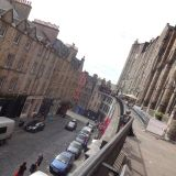Streets of Edinburgh's Old Town