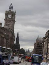 The view down Princes Street