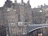 North Bridge entering into Edinburgh's Old Town