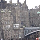 North Bridge entering into Edinburgh's Old Town
