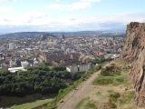Edinburgh as seen from Holyrood Park