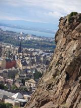 Edinburgh from Salisbury Crags