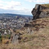 Edinburgh from Salisbury Crags