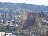 Edinburgh Castle from Salisbury Crags