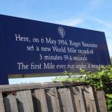 The site of Roger Bannisters famous four minute mile