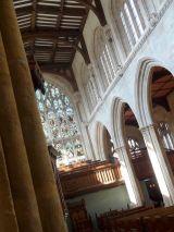 Interior of the University Church of St. Mary