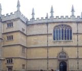 Panoramic of the Bodleian Library