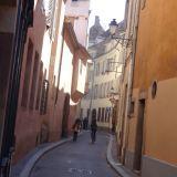 Streets of inner city Strasbourg