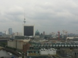 Berlin as seen from the top of the Reichstag